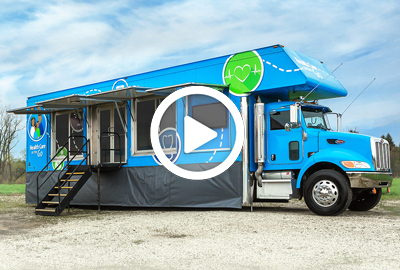 Health Care on the Go mobile clinic