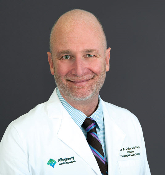 Dr. Blair Jobe, director of the AHN Esophageal Institute
