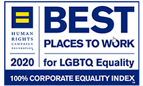 Highmark's health plans in PA,WV and DE have been recognized as 2020 Best Places to Work for LGBTQ Equality.