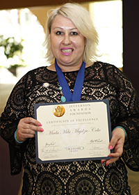 Mevla Mila Mujdzic-Celic, Jefferson Award Winner
