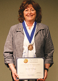 Linda Dallago, Jefferson Award Winner