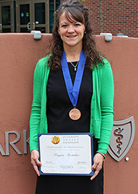 Meggan Hostuttler, Jefferson Award Winner