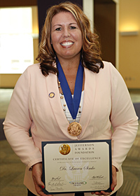 Dr. Lauren Simko, Pharm.D., Jefferson Award Winner