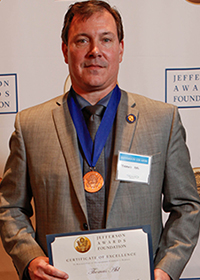 Thomas Ahl, Jefferson Award Winner
