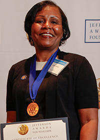 Cathy Battle, Jefferson Award Winner