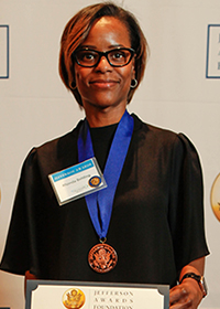 Rhonda L. Bolding, Jefferson Award Winner