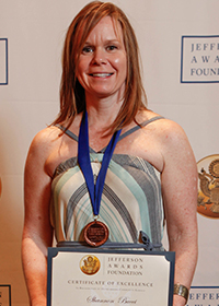 Shannon Bucci, Jefferson Award Winner
