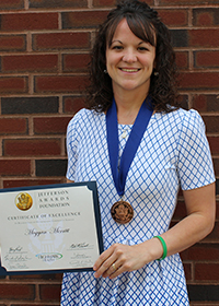 Meggan Merritt, Jefferson Award Winner