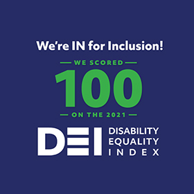DEI Best Places to Work for Disability Inclusion 2019