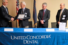 Our dental solutions company honored with 'Above and Beyond' Award for outstanding service and commitment to Guard and Reserve members.