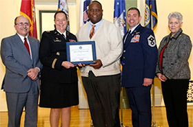 "Highmark Health recognized for going ""Above and Beyond"" to support employees in the National Guard and Reserve."