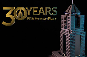 Celebrating 30 years at our Fifth Avenue Place headquarters.