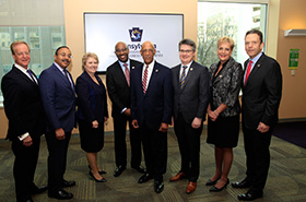 Highmark Health executives hosted the PA Dept. of General Services for an announcement related to their expanding mentor/protégé program.