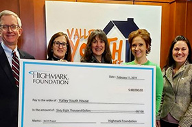 Learn more about the Highmark Foundation's $68,000 award to Valley Youth House, a program that promotes health and life skills to adolescents.