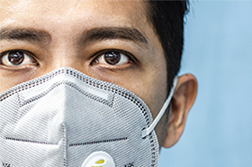Partnering to bring protective masks to health care providers amid COVID.