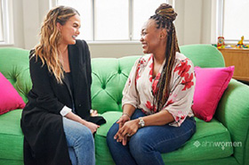 Our provider affiliate partners with Chrissy Teigen to launch a campaign #MyWishforMoms and raise awareness about maternal mental health